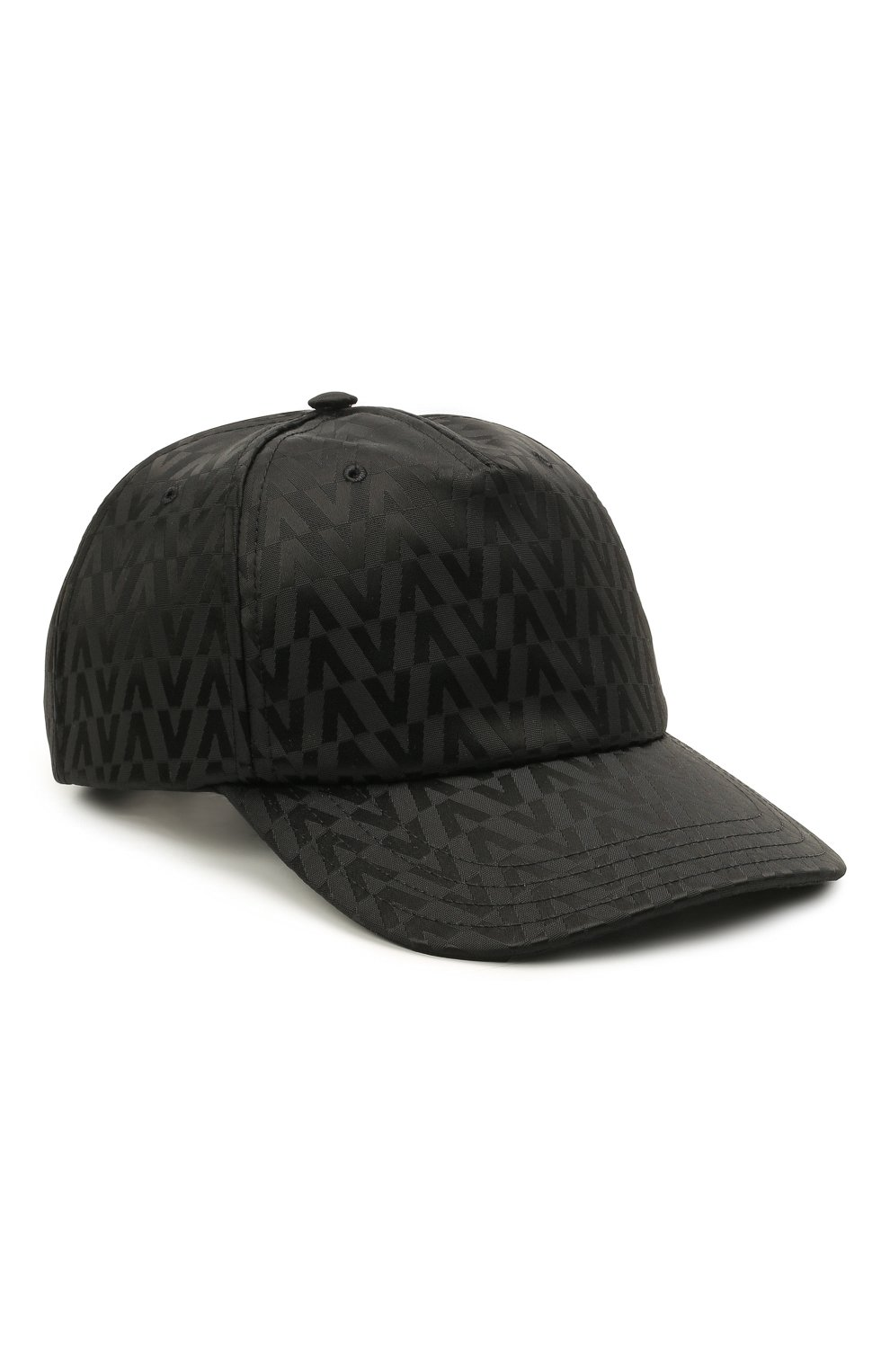 Мужской бейсболка VALENTINO черного цвета, арт. WY2HDA10/MCA   Фото 1 (Материал: Текстиль, Синтетический материал)