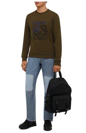 Мужской текстильный рюкзак VALENTINO черного цвета, арт. WY2B0A90/BWK | Фото 2
