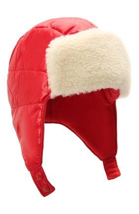 Детского шапка MONCLER красного цвета, арт. G2-951-3B600-10-68950 | Фото 1
