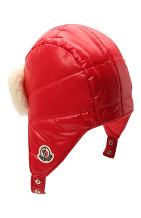 Детского шапка MONCLER красного цвета, арт. G2-951-3B600-10-68950 | Фото 2