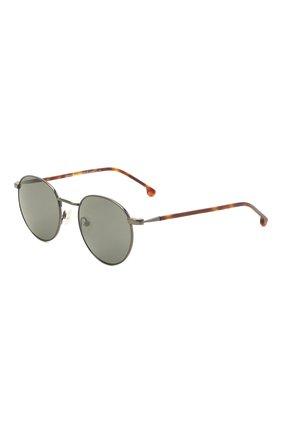 Женские солнцезащитные очки LORO PIANA серого цвета, арт. FAI4924 | Фото 1 (Тип очков: С/з; Очки форма: Круглые)