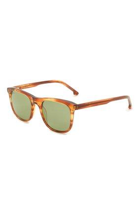 Женские солнцезащитные очки LORO PIANA светло-коричневого цвета, арт. FAI4927   Фото 1 (Тип очков: С/з; Очки форма: Прямоугольные; Оптика Гендер: оптика-женское)