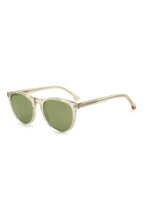 Женские солнцезащитные очки LORO PIANA светло-зеленого цвета, арт. FAL0261 | Фото 1 (Тип очков: С/з)