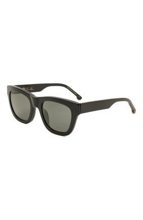 Женские солнцезащитные очки LORO PIANA черного цвета, арт. FAL4920   Фото 1