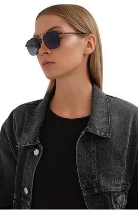 Мужские солнцезащитные очки LORO PIANA черного цвета, арт. FAL0302 | Фото 2