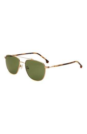 Женские солнцезащитные очки LORO PIANA зеленого цвета, арт. FAL0302 | Фото 1 (Тип очков: С/з; Очки форма: Авиаторы; Оптика Гендер: оптика-мужское)