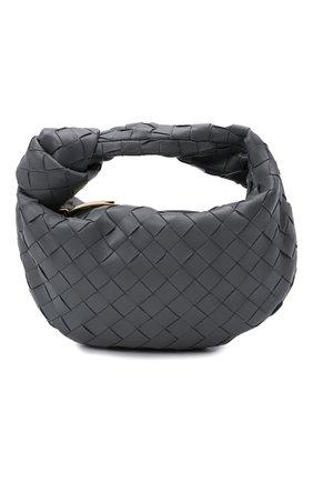 Женская сумка jodie mini BOTTEGA VENETA серого цвета, арт. 651876/VCPP5 | Фото 1 (Материал: Натуральная кожа; Размер: mini; Сумки-технические: Сумки top-handle)