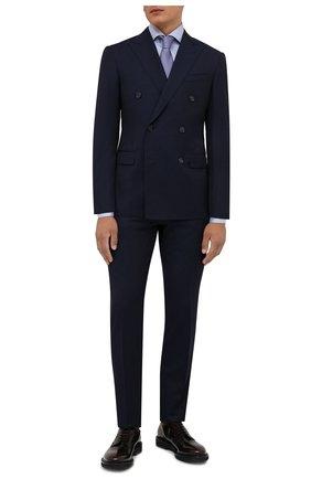 Мужские кожаные дерби PREMIATA темно-бордового цвета, арт. 31932/REAL | Фото 2