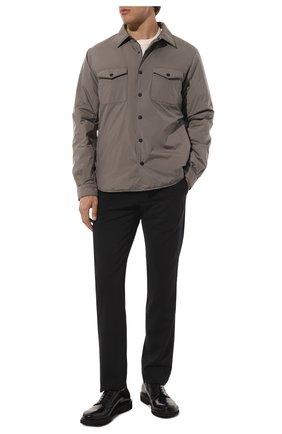 Мужские кожаные дерби PREMIATA черного цвета, арт. 31932/REAL | Фото 2 (Материал внутренний: Натуральная кожа; Стили: Классический)