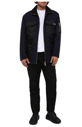 Мужские комбинированные кроссовки b-army BALMAIN черного цвета, арт. WM1VG231/LSCV | Фото 2