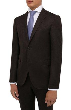 Мужской шерстяной костюм CORNELIANI коричневого цвета, арт. 887230-1818111/92 Q1 | Фото 2