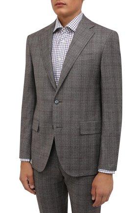 Мужской шерстяной костюм CORNELIANI серого цвета, арт. 887268-1817286/92 Q1 | Фото 2