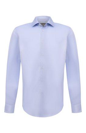 Мужская хлопковая сорочка CORNELIANI голубого цвета, арт. 88P010-1811264/00 | Фото 1