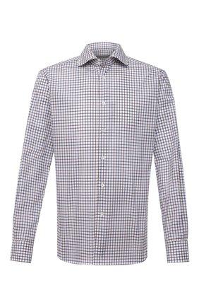 Мужская хлопковая сорочка CORNELIANI белого цвета, арт. 88P100-9111380/00 | Фото 1
