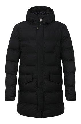 Мужская утепленная куртка KIRED черного цвета, арт. WSUKW7408505000 | Фото 1