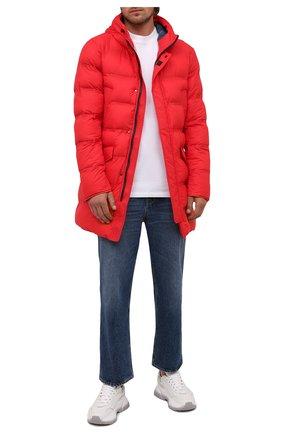 Мужская утепленная куртка KIRED красного цвета, арт. WSUKW7408502000 | Фото 2
