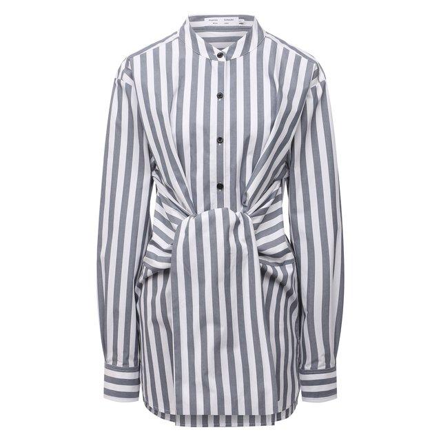 Хлопковая рубашка Proenza Schouler White Label