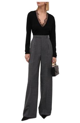 Женский пуловер из шерсти и шелка IRO черного цвета, арт. WP12HABY | Фото 2