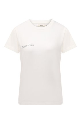 Мужского хлопковая футболка PANGAIA белого цвета, арт. 20JTF11-111-JM0S01   Фото 1 (Стили: Спорт-шик; Принт: Без принта; Женское Кросс-КТ: Футболка-одежда, Футболка-спорт)