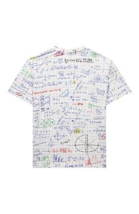 Детская хлопковая футболка DOLCE & GABBANA белого цвета, арт. L4JTDH/HS7F1/8-14 | Фото 2