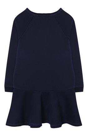 Детское хлопковое платье POLO RALPH LAUREN темно-синего цвета, арт. 311856712 | Фото 2