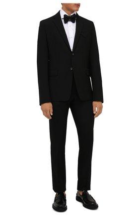 Мужская хлопковая сорочка LUIGI BORRELLI белого цвета, арт. PS30051/ACHILLE/ST/EV/PC | Фото 2