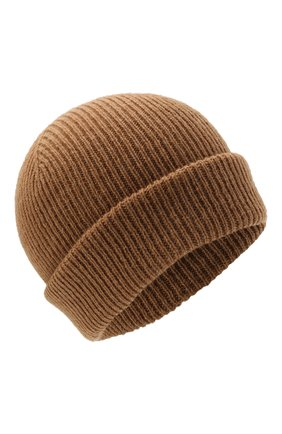 Мужская шерстяная шапка INVERNI светло-коричневого цвета, арт. 4997 CM   Фото 1 (Материал: Шерсть; Кросс-КТ: Трикотаж)