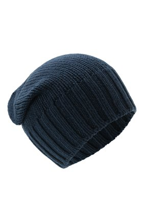 Мужская кашемировая шапка INVERNI синего цвета, арт. 4226 CM | Фото 1