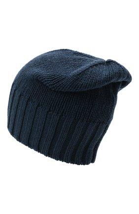 Мужская кашемировая шапка INVERNI синего цвета, арт. 4226 CM | Фото 2