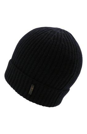 Мужская кашемировая шапка CORNELIANI темно-синего цвета, арт. 880316-1825185/00   Фото 2