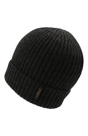 Мужская кашемировая шапка CORNELIANI темно-серого цвета, арт. 880316-1825185/00   Фото 2