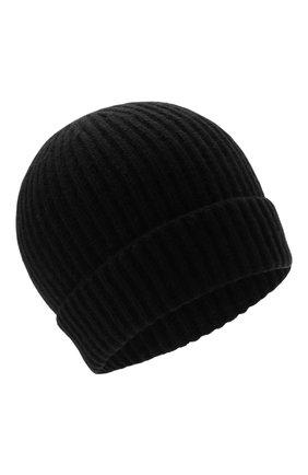 Мужская кашемировая шапка CORNELIANI черного цвета, арт. 880316-1825185/00 | Фото 1 (Материал: Кашемир, Шерсть; Кросс-КТ: Трикотаж)