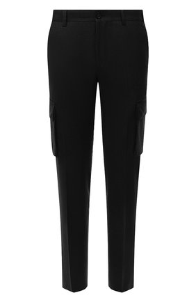 Мужские шерстяные брюки-карго CORNELIANI темно-зеленого цвета, арт. 884L02-1818111/00 | Фото 1