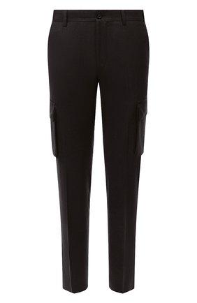 Мужские шерстяные брюки-карго CORNELIANI коричневого цвета, арт. 884L02-1818111/00 | Фото 1