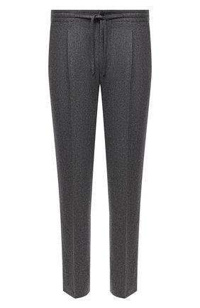 Мужские шерстяные брюки CORNELIANI серого цвета, арт. 884L03-1818117/00 | Фото 1