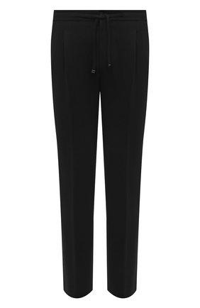 Мужские шерстяные брюки CORNELIANI черного цвета, арт. 884L11-1818501/00 | Фото 1