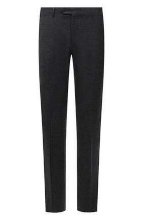 Мужские шерстяные брюки CORNELIANI темно-серого цвета, арт. 885B01-1818111/02 | Фото 1