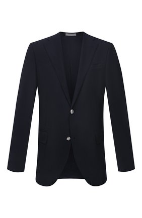 Мужской шерстяной пиджак CORNELIANI темно-синего цвета, арт. 886268-1818475/90 81Q1 | Фото 1