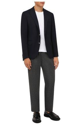 Мужской шерстяной пиджак CORNELIANI темно-синего цвета, арт. 886268-1818475/90 81Q1 | Фото 2