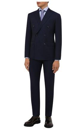 Мужской шерстяной костюм CORNELIANI темно-синего цвета, арт. 887224-1818150/92 Q1 | Фото 1
