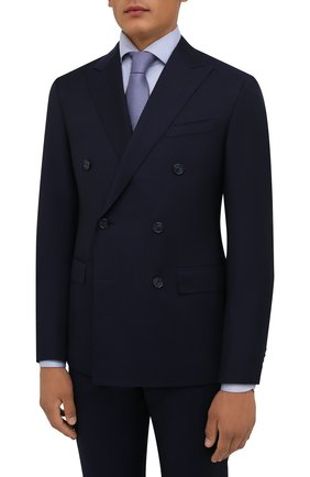 Мужской шерстяной костюм CORNELIANI темно-синего цвета, арт. 887224-1818150/92 Q1 | Фото 2