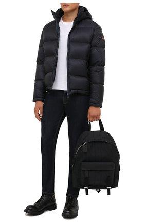 Мужская пуховая куртка PAUL&SHARK темно-синего цвета, арт. 11312070/I3C | Фото 2