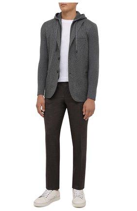 Мужской шерстяной пиджак ELEVENTY серого цвета, арт. D70GIAD04 TES0D140 | Фото 2