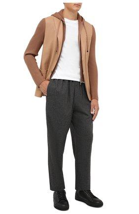 Мужской шерстяной пиджак ELEVENTY бежевого цвета, арт. D70GIAD04 TES0D140 | Фото 2