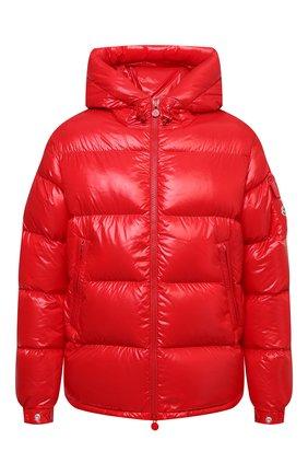 Мужская пуховая куртка ecrins MONCLER красного цвета, арт. G2-091-1A001-68-68950 | Фото 1