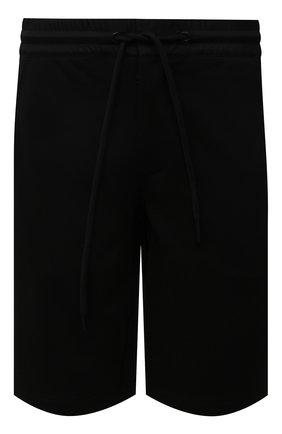 Мужские хлопковые шорты MONCLER черного цвета, арт. G2-091-8H000-12-809KR | Фото 1