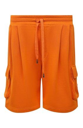 Мужские хлопковые шорты DOLCE & GABBANA оранжевого цвета, арт. GYSJAT/FU7DU | Фото 1