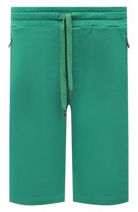 Мужские хлопковые шорты DOLCE & GABBANA зеленого цвета, арт. GWS9AT/FU7DU | Фото 1