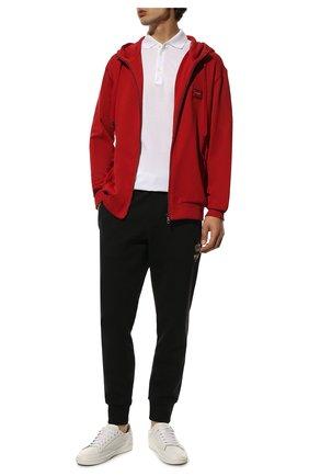 Мужской хлопковая толстовка DOLCE & GABBANA красного цвета, арт. G9PD2T/FU7DU | Фото 2