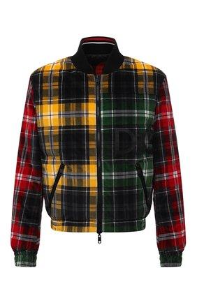 Мужской двусторонний бомбер DOLCE & GABBANA разноцветного цвета, арт. G9UT8Z/FSFAQ   Фото 1 (Материал подклада: Синтетический материал; Длина (верхняя одежда): Короткие; Рукава: Длинные; Материал внешний: Хлопок; Кросс-КТ: Куртка; Мужское Кросс-КТ: утепленные куртки; Принт: С принтом; Стили: Гранж)